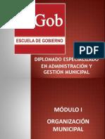Diplomado en Administración y Gestión Municipal- Primer Módulo