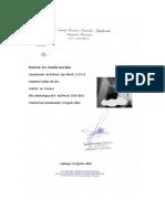 Certificado Claudia Lara