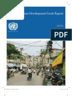 The Millennium Development Goals - Report 2010 (ONU 2010)
