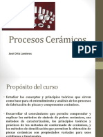 procesos cerámicos