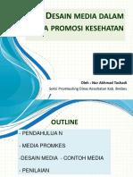 Desain Media Promkes