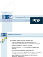 Performance Management PPT 2019