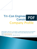 Tri-Con Engineering & Construction (Company Profile)