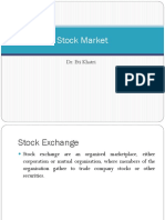 Stock and commodity market