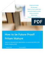 How to Be Future Proof - 2019 - Pritam Mahure