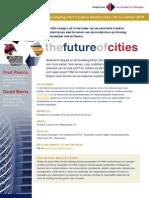 Uitnodiging Future of Cities