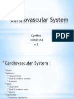 histologi CV sistem