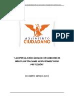 lA DEFENSA JURIDICA DE LOS CONSUMIDORES EN mEXICO INSTITUCIONES Y PROCEDIMIENTOS DE RPOTECCIÓN.pdf