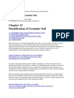Densification of Granular Soil