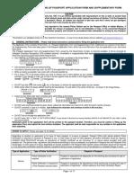 Passport application form Q & A