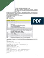 Formato File Fotometrici