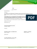 Covered Court Letter 2018