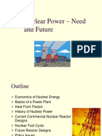 Nuclear Power – Need and Future.ppt