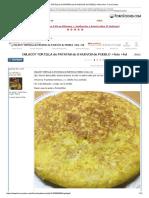 OSLACO_ TORTILLA de PATATAS de 8 HUEVOS de PUEBLO +foto +hd - ForoCoches