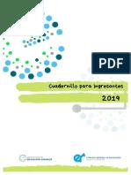 Cuadernillo Del Curso de Ingresantes 2019 Dirección de Educación Superior Entre Ríos