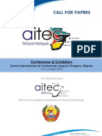 Call for Papers - AITEC Mozambique 13-14Oct2010
