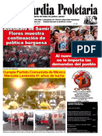 MX VANGUARDIA PROLETARIA PCMML [547] [2019-03-01] Asesinato de Samir Flores Muestra Continuación de Política Burguesa