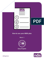 How to Use Your NDIS Plan Book 3 Easy Rnglish