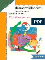 Los Desmaravilladores - Elsa Bornemann