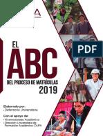 ABC de las matrículas 2019 - UNSA.pdf