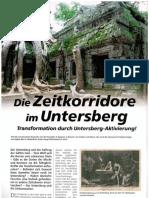 Die Zeitkorridore Im Untersberg