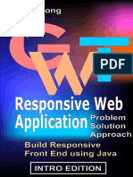 GWT Responsive Web Application