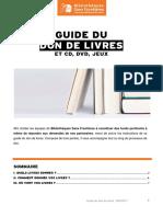 Guide Don de Livres 2017
