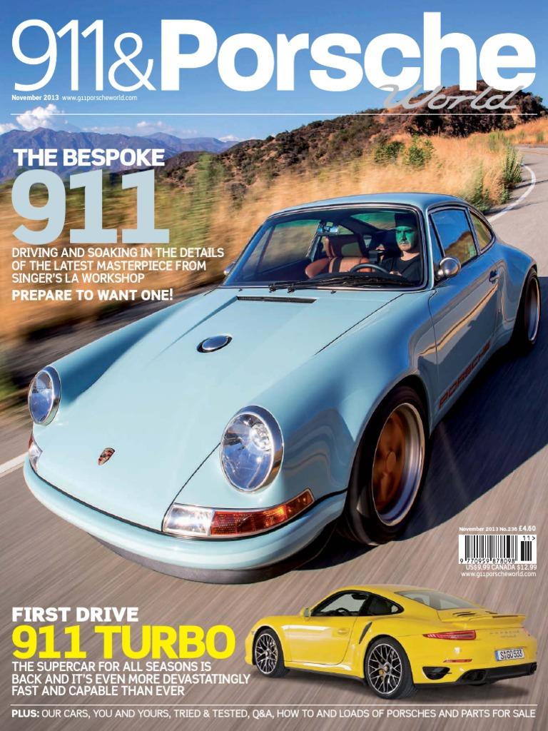 Porsche SIT Service Information Technik Technical Introduction 2012 991 911