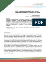 Gros Burocratización y racionalización en weber.pdf