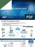 MEF - Plamen Minev - CORD Summit 2016 MEF