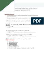 Evaluación de la orientación vocacional