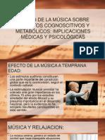Efecto de La Música Sobre Aspectos Cognoscitivos y