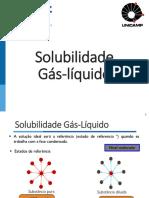Solubilidade - GL