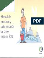 Manual de Muestreo de Cloro Residual