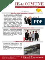 Notizie Dal Comune di Borgomanero dell'8 Marzo 2019