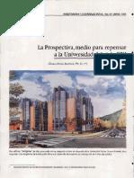 [Paper] Recio - La prospectiva de la Universidad Siglo XXI.pdf