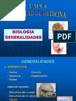 Tema 1 - Biologia - Generalidades