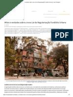 Regularização Fundiária no Brasil