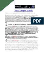 Adevarul Despre Plastic