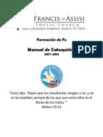 Manual de Catequistas 2017-2018