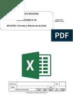Lab02 - Fórmulas y Referencia de Celda