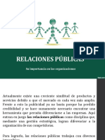 Relaciones Públicas en la empresa