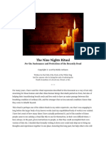 The Nine Nights Ritual