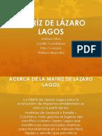 matriz de evaluacion ambiental Lazaro lagos