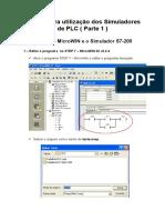 Manual Para Utilização Dos Simuladores de PLC - Parte 1