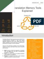 Translation Memories Tools Explained