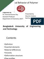 Polymer Rheology Presentatioin