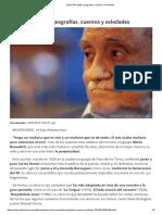 Mario Benedetti_ Geografías, Cuentos y Soledades