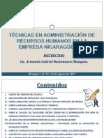 Presentación Tecnicas en Administración de RRHH en la empresa nicaraguense.pdf