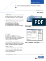 Measuring system for laboratory analysis of decomposition products in SF6 gas Model GFTIR-10.pdf